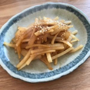 焼肉のたれで簡単!大根の柚子胡椒炒め煮