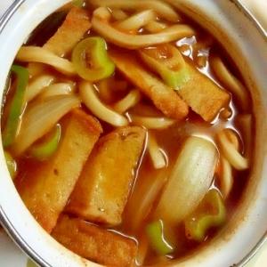 韓国風!辛味噌煮込みうどん++