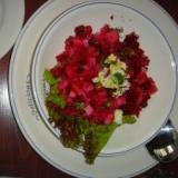 ロシア料理 ビーツのサラダ ヴィネグレット