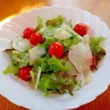菊芋のスライスサラダ