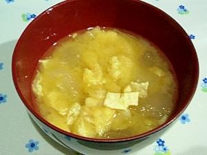 冬瓜入りのお味噌汁①