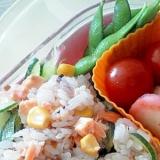 お弁当に☆簡単鮭寿司♪