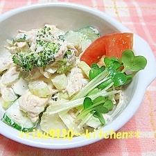 簡単すぎる!ツナマヨの野菜サラダ