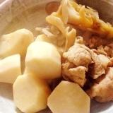 ほっこり美味しい♪「里芋と舞茸と豚肉の煮物♪」