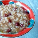 ❤ 小豆の水煮を使かって! 小豆粥 ❤
