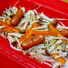 ルクエで簡単、蒸し野菜