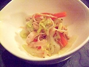 簡単常備菜☆白菜とハムのマリネ