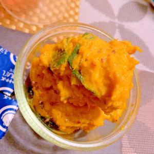 レンチン南瓜の粒マスタードマヨサラダ