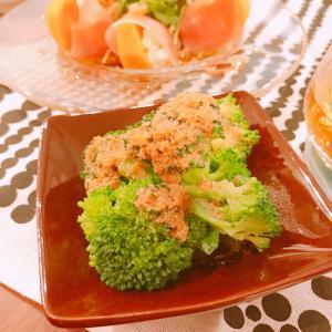 ブロッコリーの胡麻マヨサラダ☆