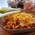 チーズとコーンのカレードリア