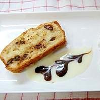 チョコレートチャンク&バナナパウンドケーキ。