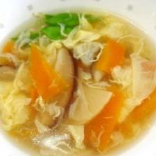 中華風かき玉汁