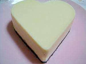 豆腐でヘルシー♪クリチなしのレアチーズケーキ