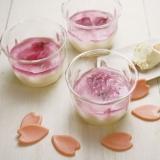 桜のレアチーズ