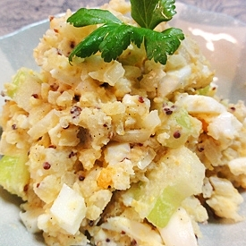 セロリのポテト卵サラダ