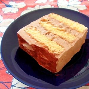 スクエアチョコレートケーキ