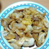 キャベツと豚肉の回鍋肉