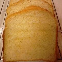 ホームベーカリーで簡単!たまご食パン