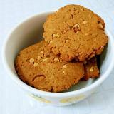 ホットケーキMIXで…くるみ&チョコのクッキー