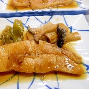 アブラカレイの煮魚(ねぎ、エリンギ添え)