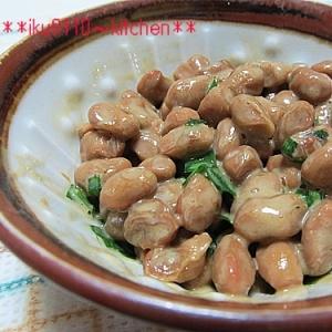 簡単♪大粒!美味しいニラ納豆