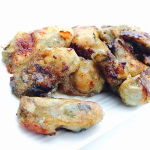 簡単*牡蠣のカレー焼き