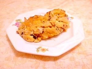 豆乳ドレッシング入り♪紫蘇の実のオムレツ