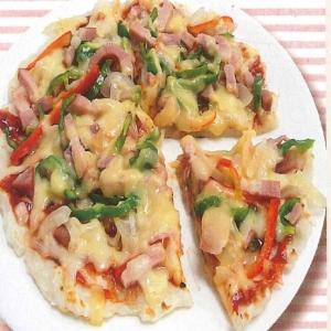 長いもの簡単ピザ