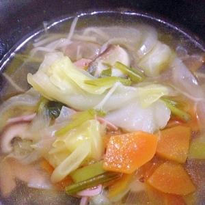 具沢山!栄養満点!野菜スープ♪