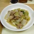 白菜と鶏肉の煮物