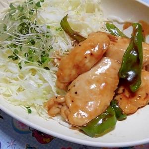 鶏胸肉の甘酢炒め
