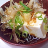 めんつゆdeおいしい湯豆腐☆