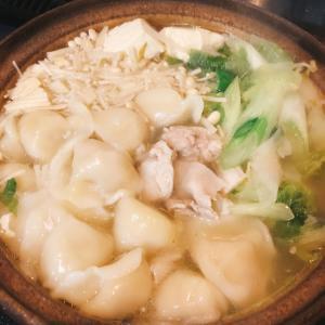 冷凍水餃子入り 5分煮るだけの鍋