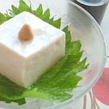 ひんやりぷるぷる☆ごま豆腐