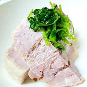 簡単★豚バラブロック肉の浅漬け