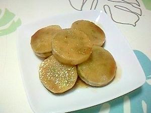 長芋の甘辛煮++