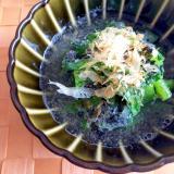 レンジで簡単!小松菜のごまびたし