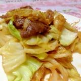 甘辛♡牛肉とキャベツ炒め