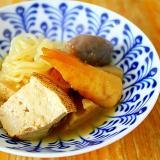 レンコンと白滝の煮物