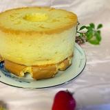 基本の18cm型シフォンケーキ