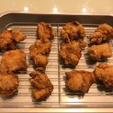 鶏の唐揚げ(塩にんにく味)