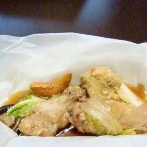 電子レンジde鶏手羽元の簡単煮