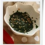 【離乳食中期】モロヘイヤと納豆のねばねば煮
