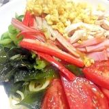 夏の定番☆鶏ささみのローカロリー冷やし中華