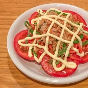 簡単おいしい!お好み焼き味のトマトサラダ