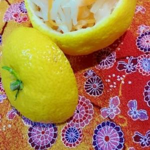 お正月用◎柚子カップの大根なます