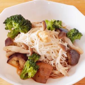 野菜たっぷり♪ぶっかけ素麺