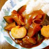 南瓜と薩摩芋とチキンのハロウィンカレー