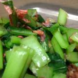 小松菜と桜海老のおひたし