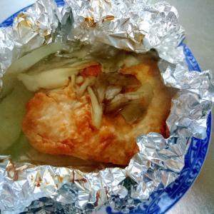 鶏肉のホイル焼き☆タンドリーチキン味